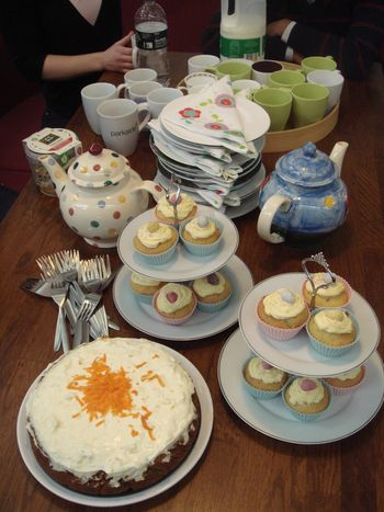 Springy cakes