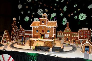 Gingerbread-village