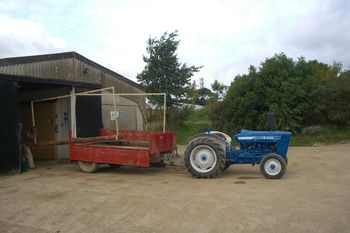 Snazzy tractor