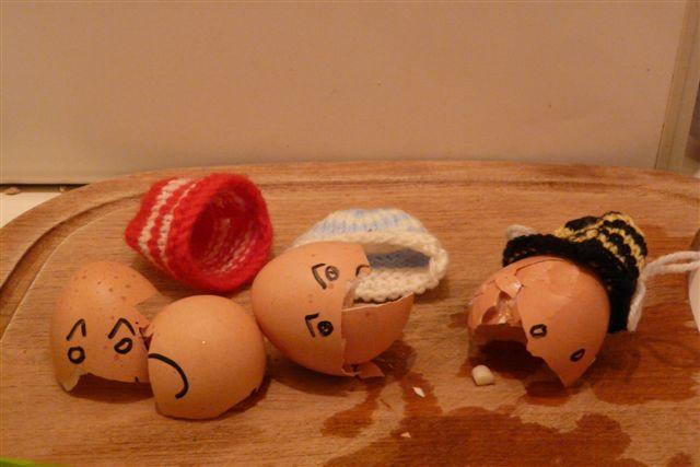 5. eggs being eggs