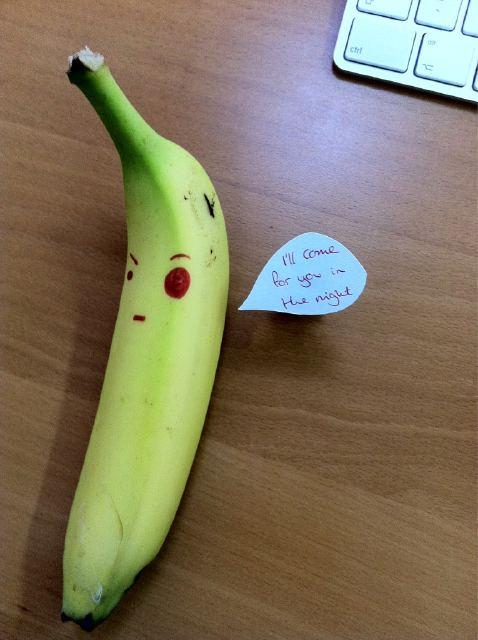 Evil banana