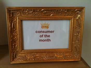 Consumer of the Month