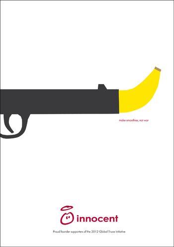 Peaceful banana gun