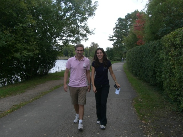 Walking along the Thames - Jeevika Trust