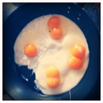 Triple double yolker