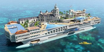 Billion dollar yacht