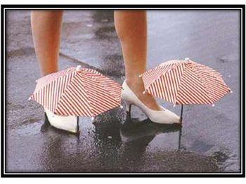 Shoe Umbrellas